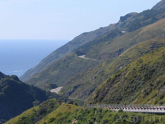 Highway 1 California Big Sur Coastline