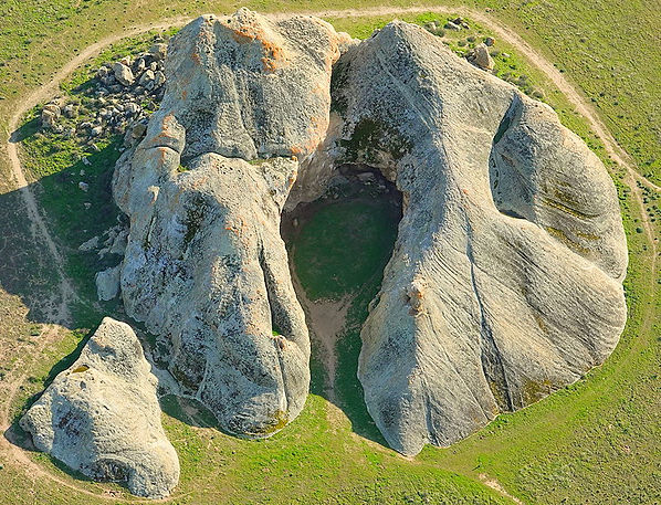 Painted Rock, Carrizo Plain National Monument, Photo by John Wiley