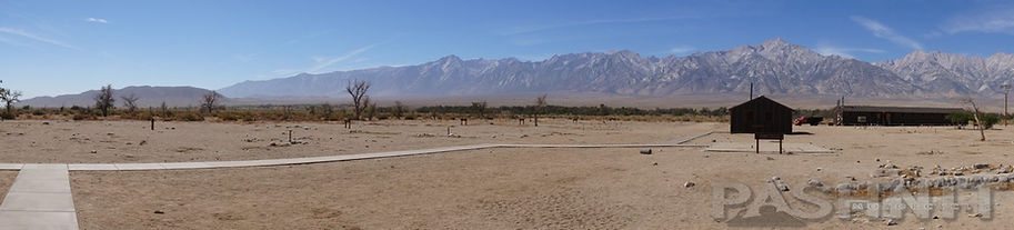 Vast open spaces at Manzanar War Relocation Center