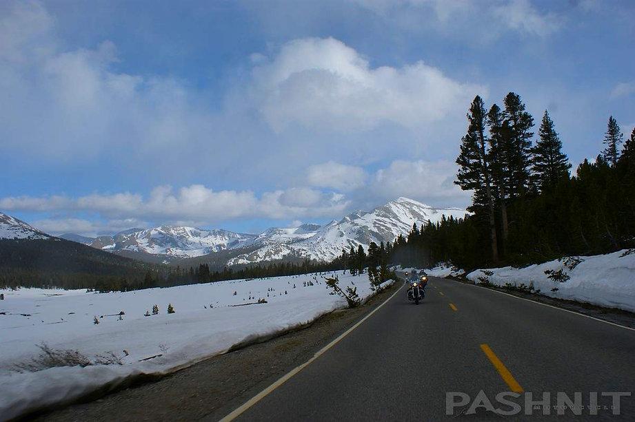 Highway 120 - Tioga Pass in June