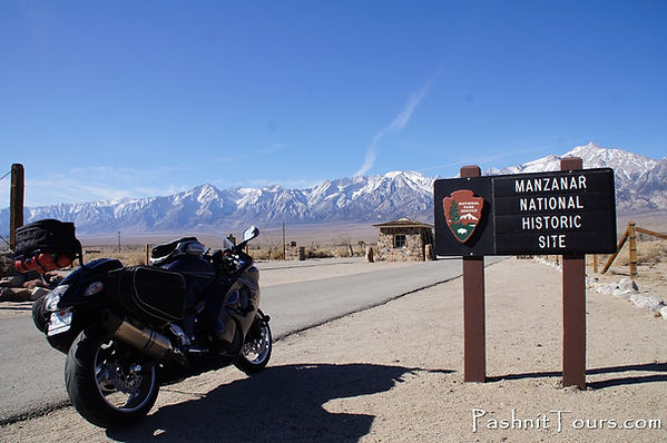 Entrance at Manzanar National Historic Site