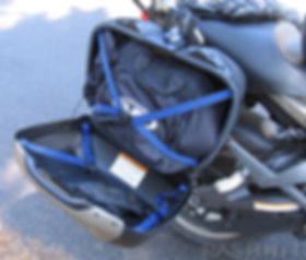 Motorcycle Buell Ulysses XB12X Saddlbags