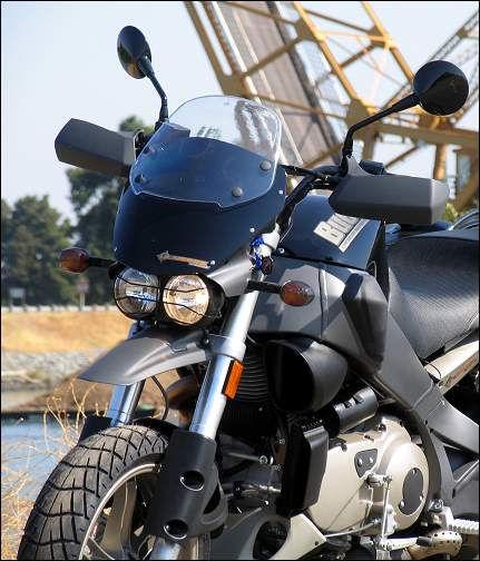 Motorcycle Buell Ulysses XB12X handguards