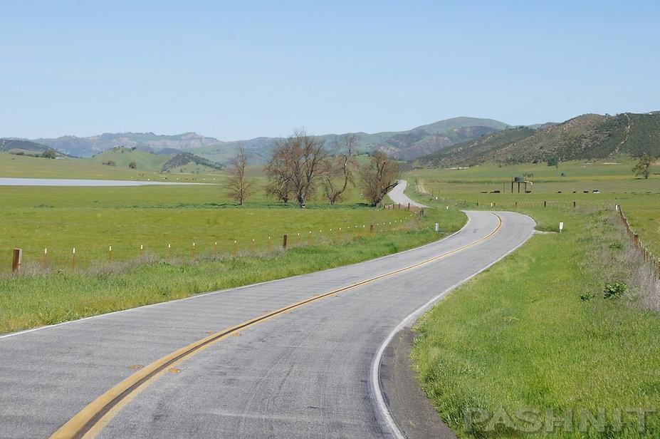 Highway 25, San Benito County, California