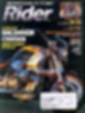 Pashnit in Rider Magazine