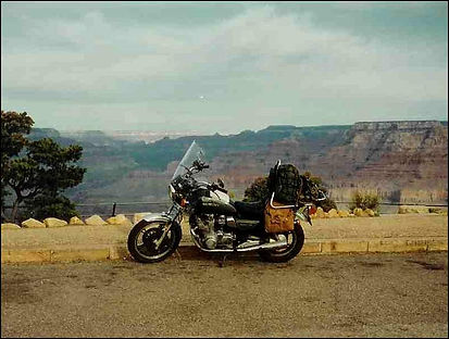 Suzuki GS850L Grand Canyon Arizona