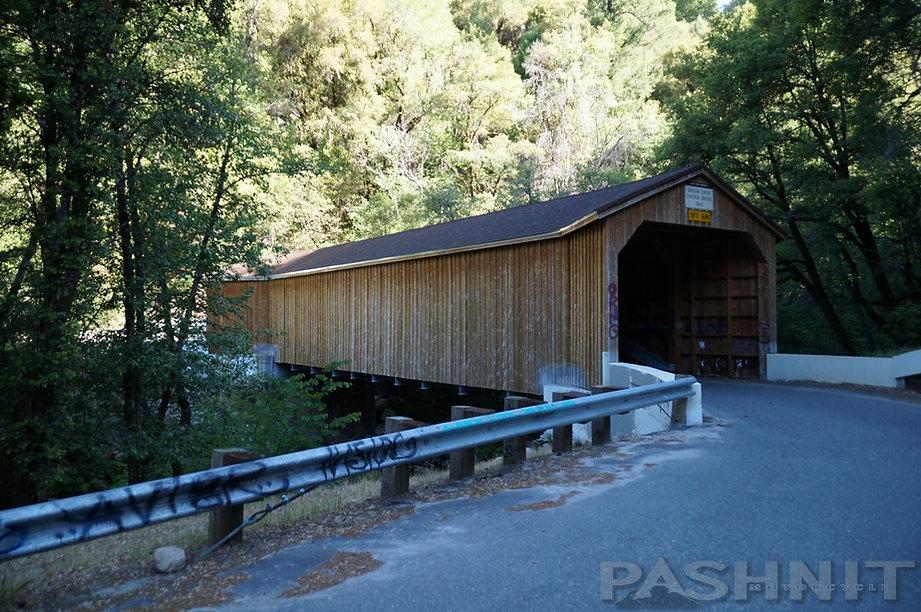 Oregon Creek Covered Bridge