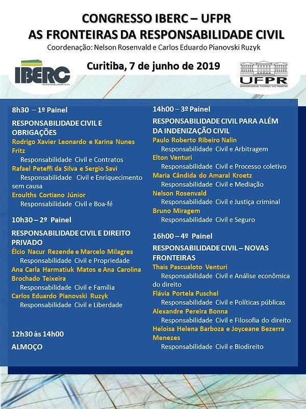 Programa Congresso Paraná