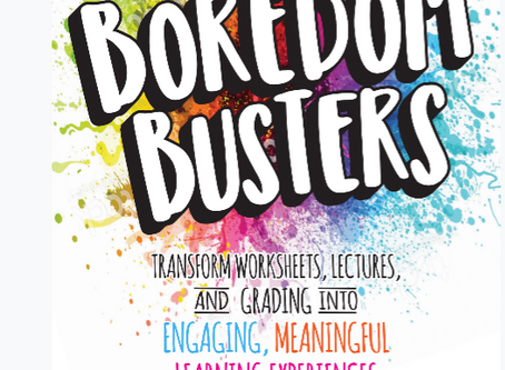 Boredom Busters Book Release!