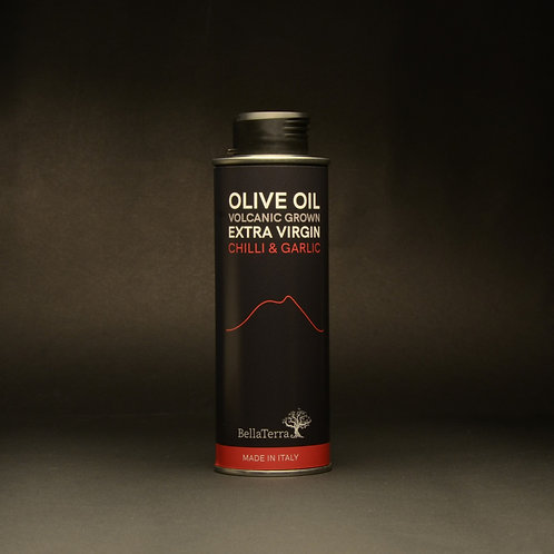 Sicilian Chilli & Garlic - Mount Etna Extra Virgin Olive Oil
