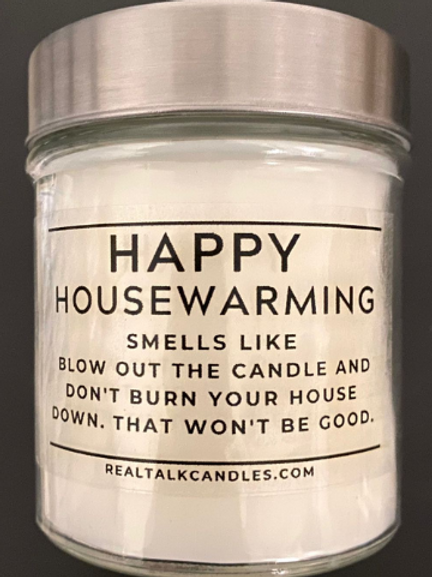 House Warming Candle