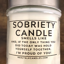 SOBRIETY CANDLE