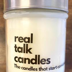 REAL TALK CANDLES