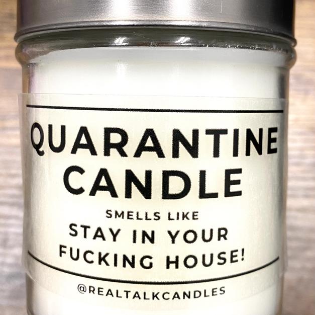 QUARANTINE CANDLE