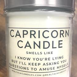 CAPRICORN CANDLE