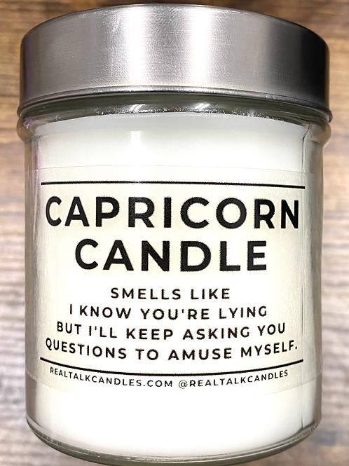 Capricorn Horoscope Candle