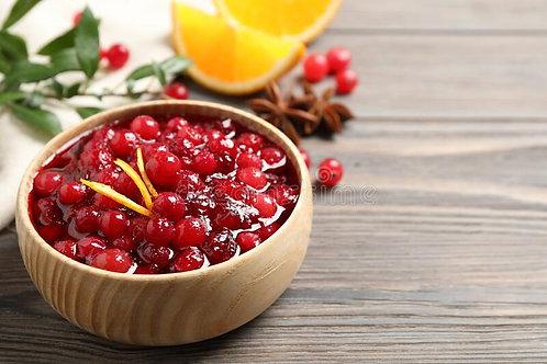 Warm Cranberry Citrus