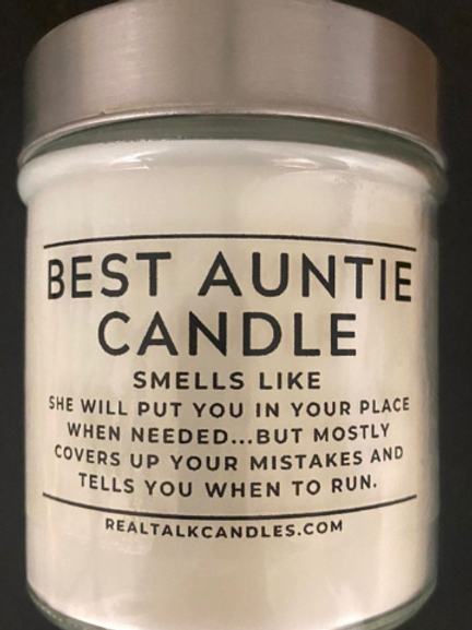 Best Auntie Candle