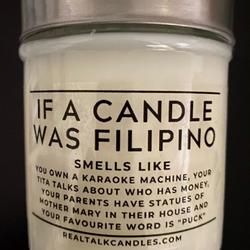 FILIPINO CANDLE