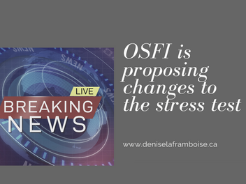 **OSFI new stress test announcement** (spoiler: it isn't as scary as everyone is making it sound)