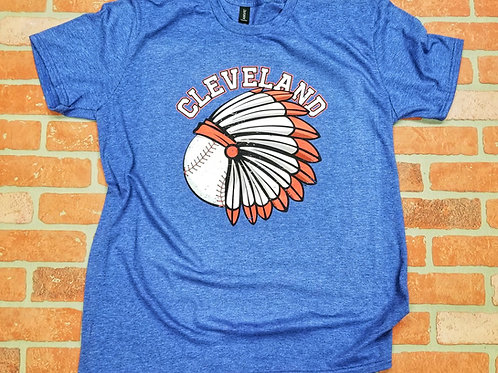 Cleveland Baseball Headress Tee