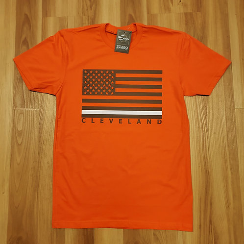 Cleveland Flag T shirt