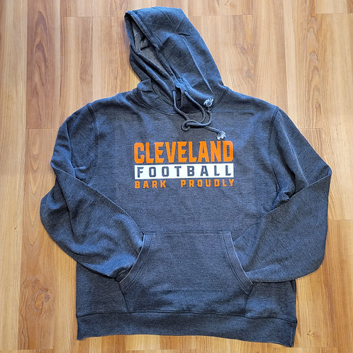 Cleveland Bark Proudly Vintage Hoodie