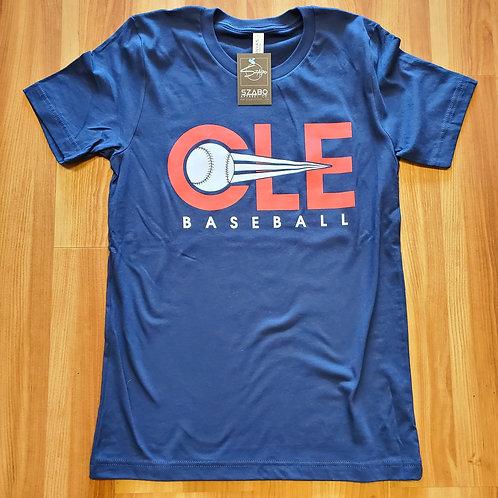 CLE Baseball T shirt