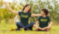 mockup-of-a-mom-and-kid-with-t-shirts-pl