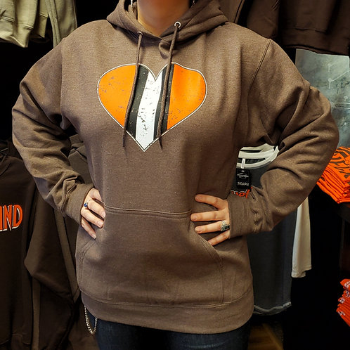 Cleveland Heart Hoodie
