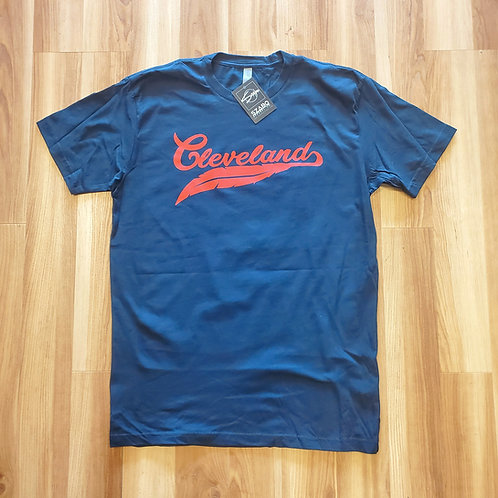 Cleveland Red Feather T shirt