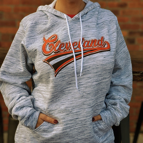 Cleveland Marbled Hoodie