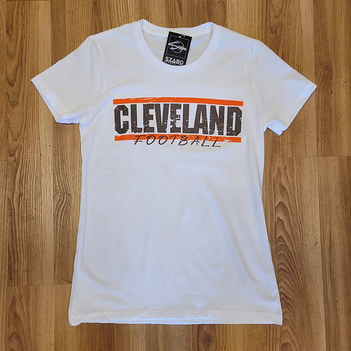 Ladies Cleveland Stripes T shirt