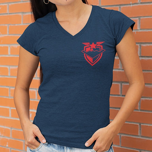 Bombers20 Ladies V-neck Tshirt