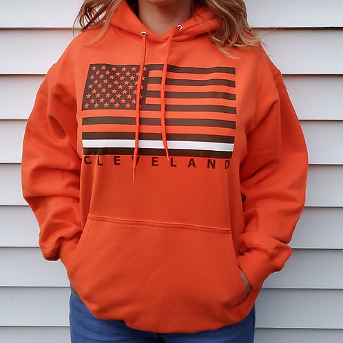 Cleveland Flag Hoodie