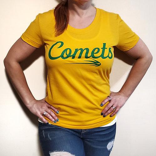 Comets Ladies T shirt