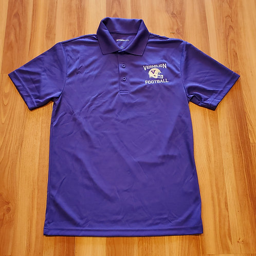 Vermilion Football Polo