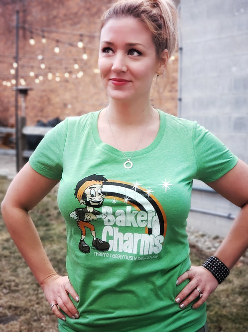 Ladies Cleveland Charms Tee