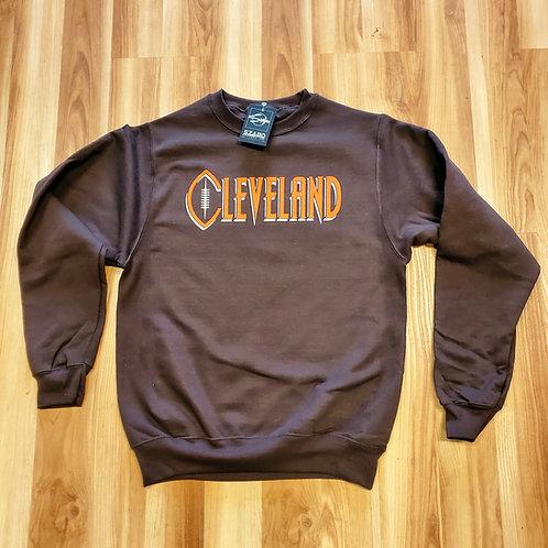 Football Cleveland Crew neck Sweatshirt