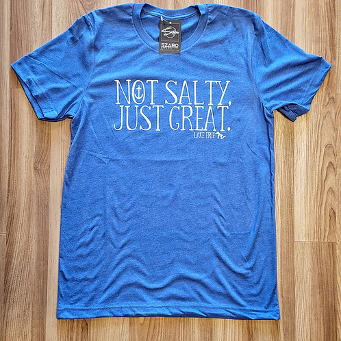 Not Salty Just Great Lake Erie Tshirt
