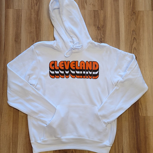 Stacked Cleveland Hoodie