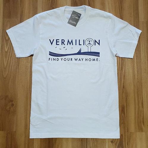 Vermilion Find Your Way Home T shirt