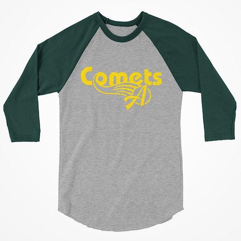 Retro Comets Raglan T shirt