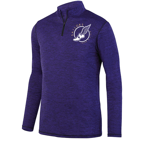1/4 Zip Performance Blend Track Pullover
