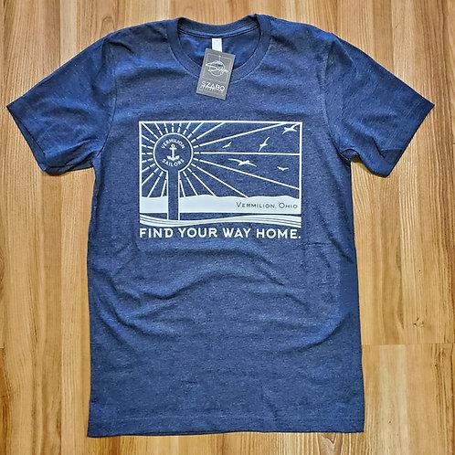 Vermilion Find Your Way Home T shirt #2