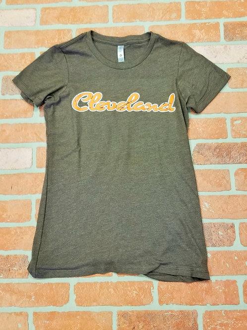 Ladies Cleveland T shirt