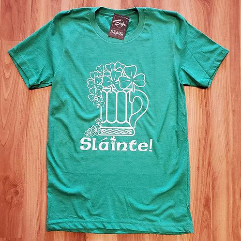 St. Patrick's Day Slainte T shirt