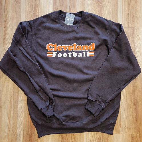 Cleveland Football Crewneck