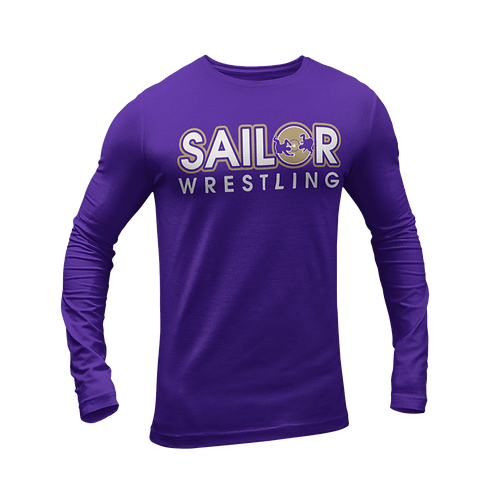 Sailor Wrestling Longsleeve T shirt
