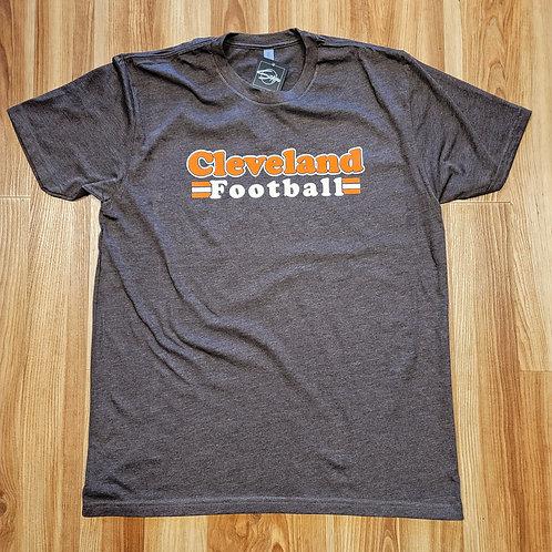 Cleveland Football Retro T shirt